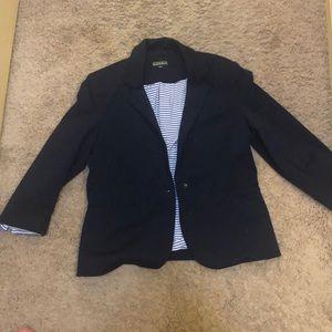 Navy blazer. Size L